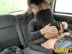 FakeTaxi small tight cunt enjoys the cock