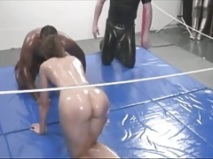 Mixed Oil Wrestling Championship Match