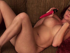Sandi Lymm giving herself a big orgasm