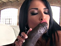 Bigass babe anally screwed by bbc