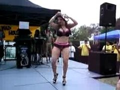 BIKINI CONTEST WITH Huge Booty SHAKIN