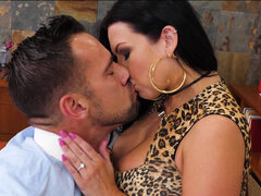 Sheridan Love gives her boss he green light to fuck her married, hotwifing pussy