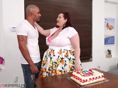 Cake Stuffing interracial fucking
