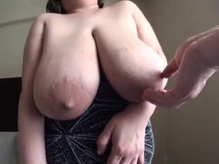 Big Saggy Huge Tits with Milk and Hard Sex