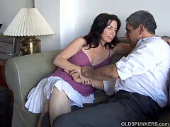cute and cuddly mature babe is a super-steamy fuck