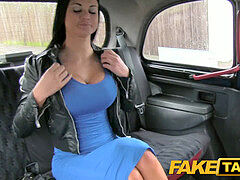 FakeTaxi Sex starved career girl in lunch break fuck-fest gauze