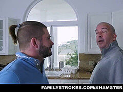 FamilyStrokes - crazy aunt-in-law romps Nephew During Therapy
