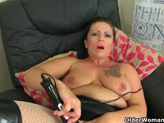 Mature housewives solo compilation