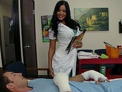 Nurse decides to take matters in her own hands