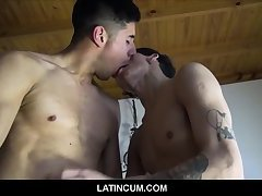 Gay Couple In Love Jock Stud And Boy Twink Paid To Fuck For Filmmaker POV