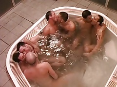 Men So Wet in Whirlpool