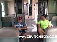 straigth arab fuck barebak a gay in train public