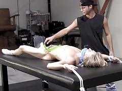 Young Blonde Twink Captured & Turned Into BDSM Slave