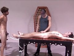 Young Cute Twink Abused in BDSM and Bareback