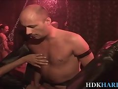 Mature gay guy ass fisted