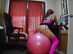 sissy bouncyball part2