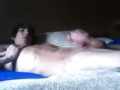 Tall Emo Twink Jerks Big Cock