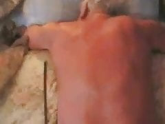 Old mature grandpa sex with another old mature man