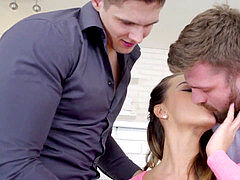 A Lazy Afternoon made More titillating by a bit of BIThreesome act - Naomi Bennet, Steavn, Nico A, Tomas pulverize