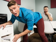 Jake Porter and Colby Tucker fucking at the office