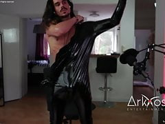 Leather Compiliation Camshow model one