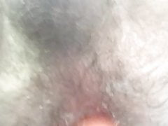 Close up of my ass getting fucked by a vibrator